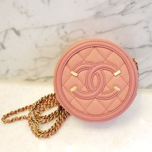 SOLD 🎠 Chanel Round Crossbody Bag